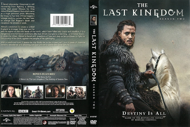 The Last Kingdom Season 2 DVD Cover