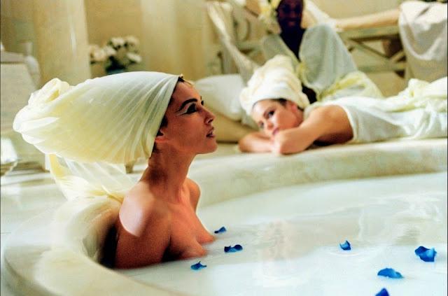 Monica Bellucci dans le rôle de Cléopatre - Film Astérix et Obélix mission Cléopatre