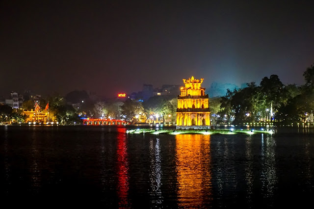Turtle Tower - one of the symbols of Hanoi capital