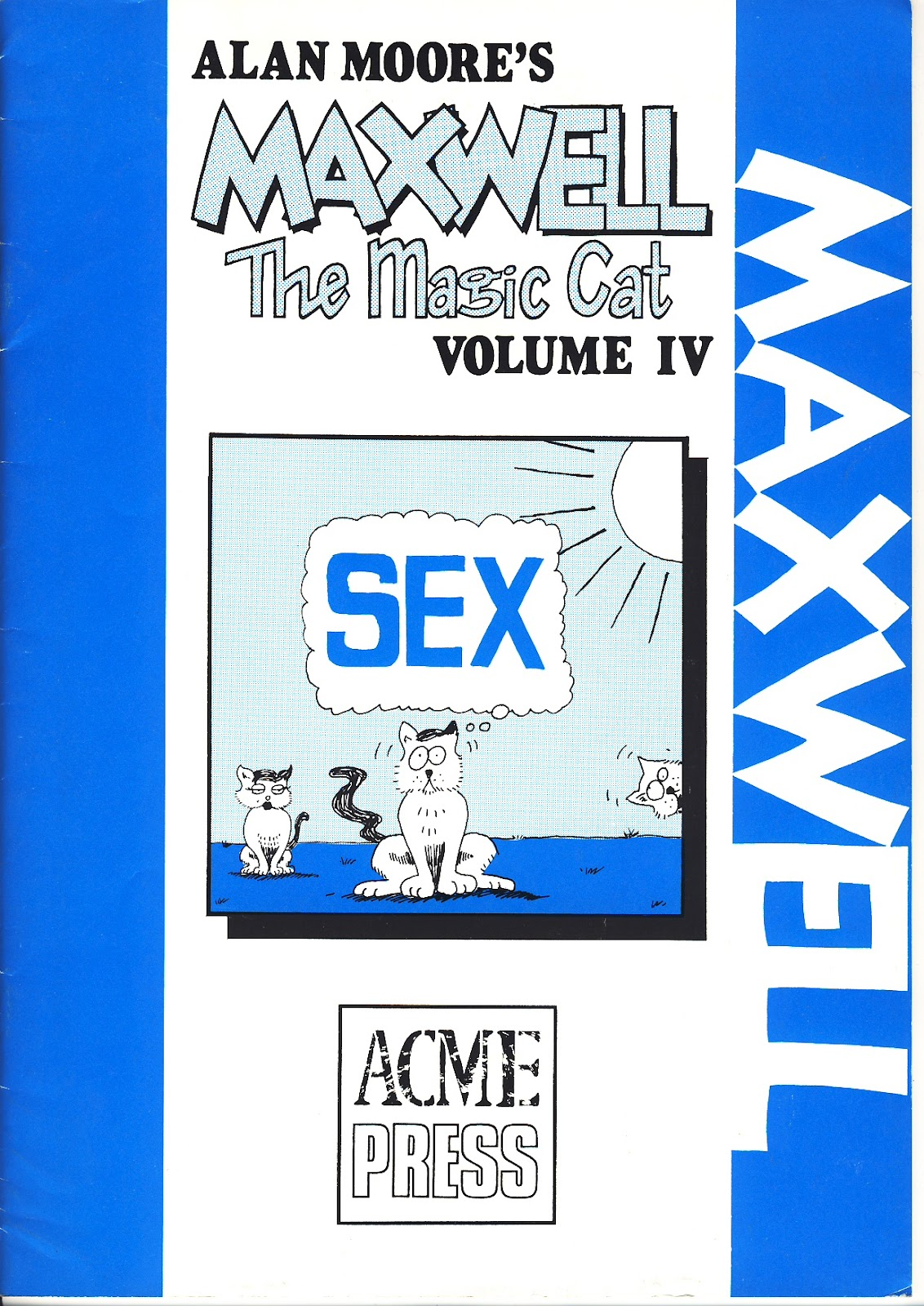 Read online Alan Moore's Maxwell the Magic Cat comic -  Issue #4 - 1