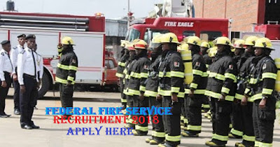 Latest Application Form portal For Federal Fire Service Recruitment Form Login 2018/2019