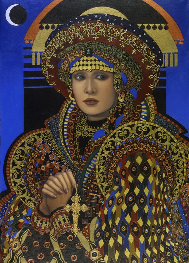 Jane Whiting Chrzanoska 1948   American painter