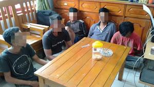 Polisi Sikat Tsk dan Kawanan Bandar Sabu di Tebo Ilir