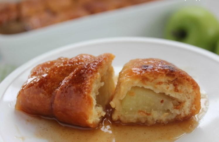 Apple Dumplings #falldessert #apple