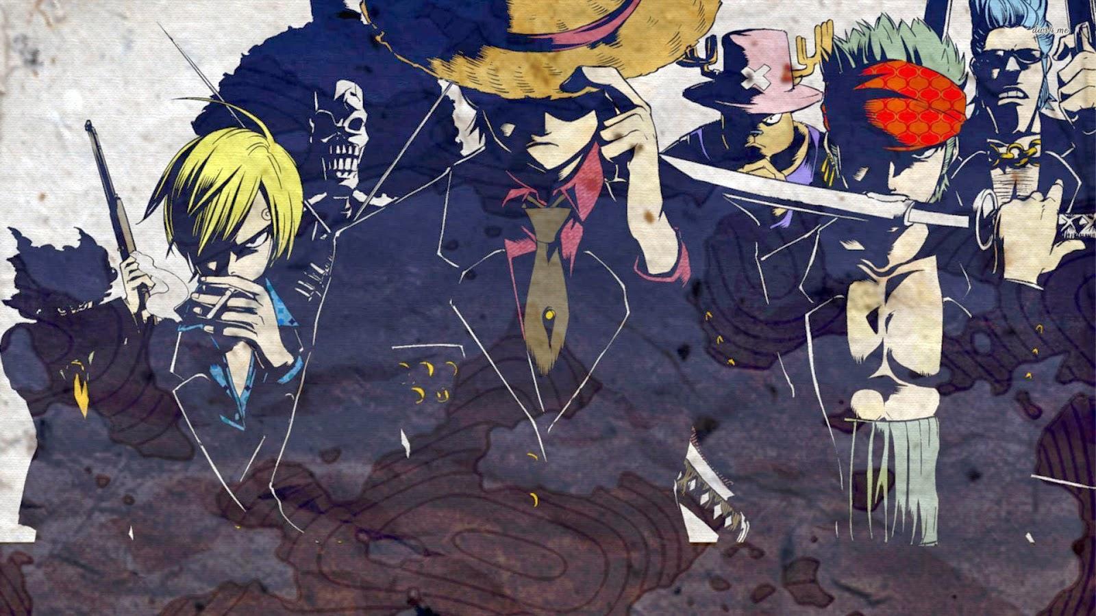 Hukum Dan Gambar Abstrak Soundtrack One Piece