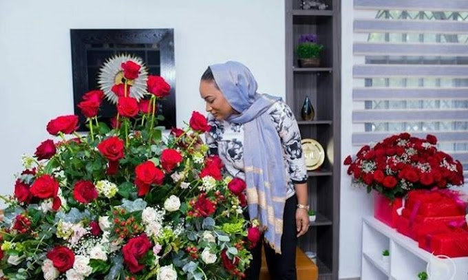 Video: Val's Day: Bawumia surprises Samira with roses