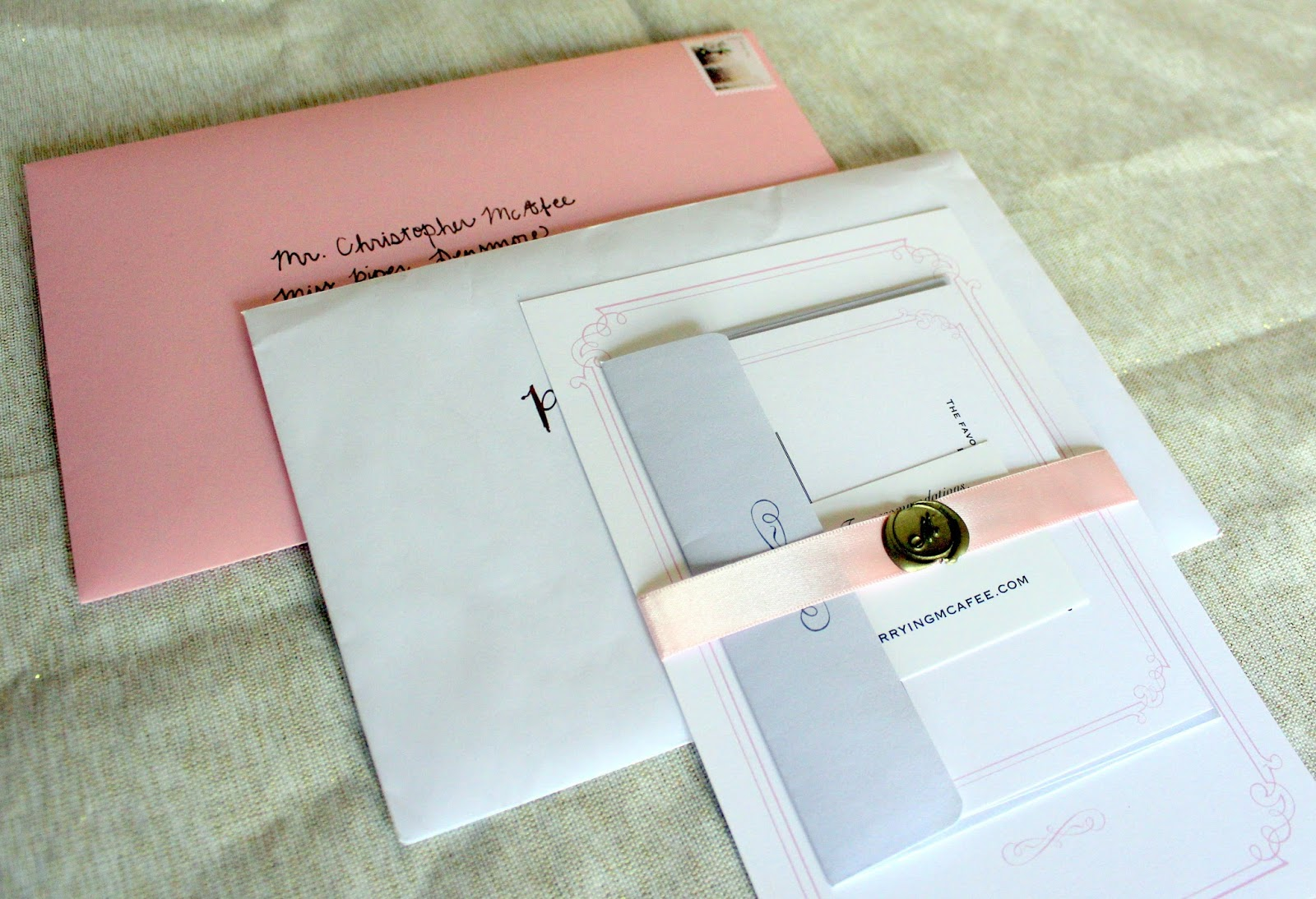 I Loved How Vistaprint Has Pre Designed Complimentary Pieces For The RSVP  Card, The Wedding Program, And More. We Had The Invitation, The RSVP Card  And ...