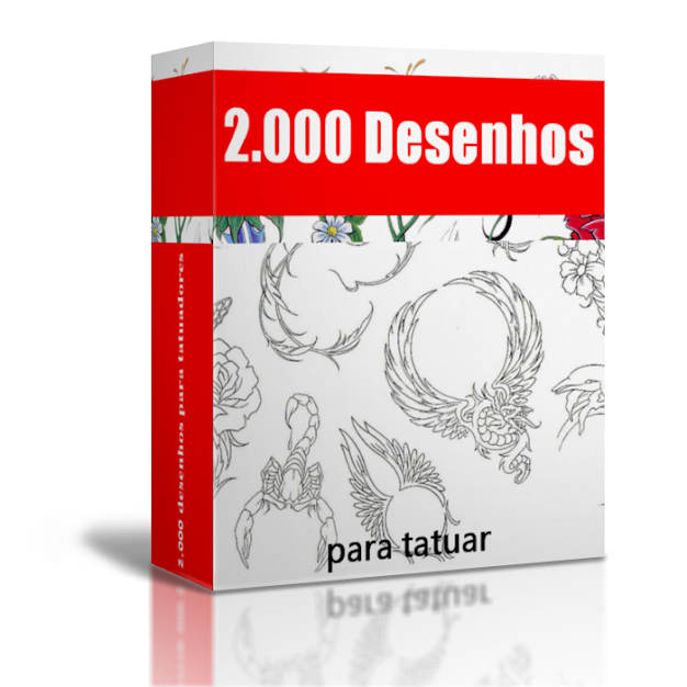 Pacote com mais de 2.000 Desenhos para tatuadores