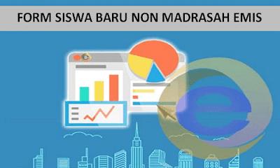 Form Upload Siswa Baru EMIS Online 2018/2019 Format Excel