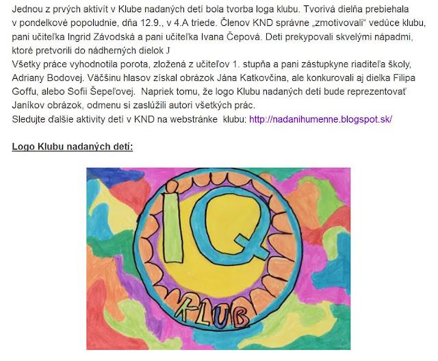 https://nadanihumenne.blogspot.sk/2016/09/deti-z-knd-vytvorili-logo-svojho-klubu.html