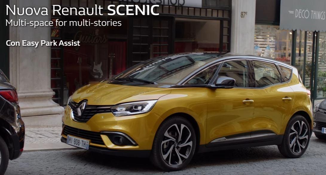 Canzone Renault pubblicità Scenic multi space, spot Park Assist 2017