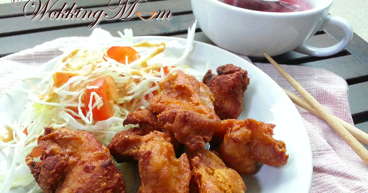 Let S Get Wokking Deep Fried Chicken With Fermented Bean