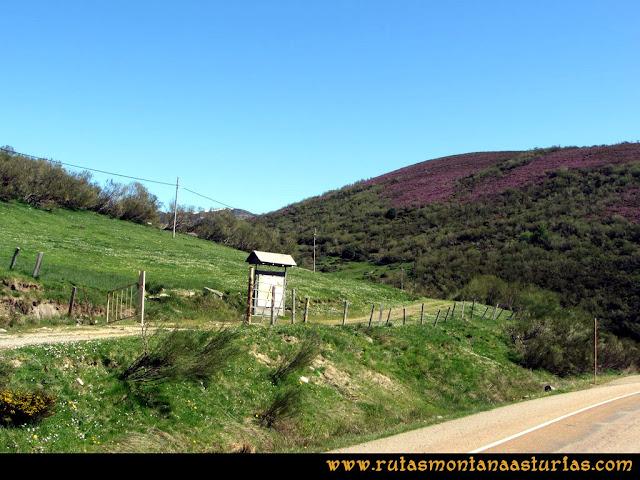 Ruta Les Rapaines, Lago Ubales, Cascayón: Inicio Pista Wamba