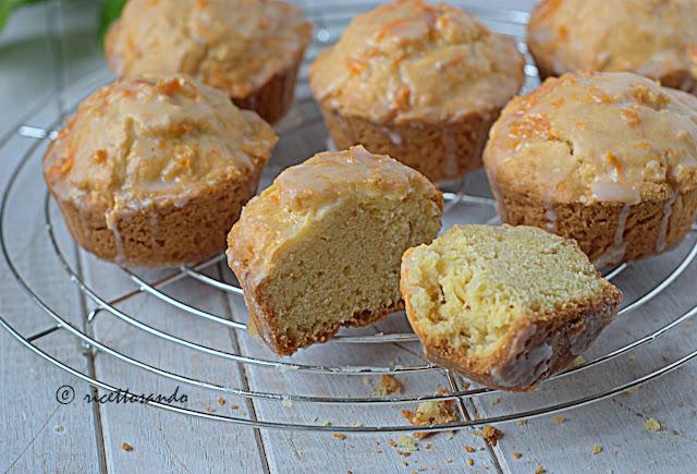 Minicake inzupposi all'arancia ricetta torta dolce
