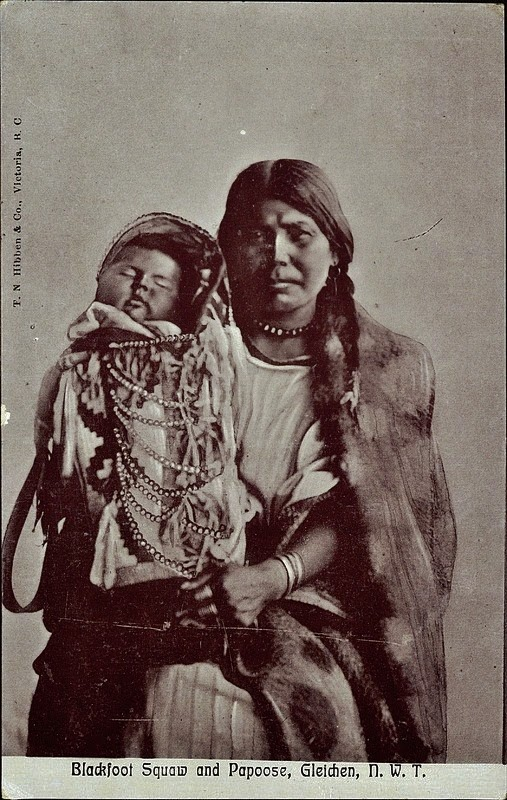 Native American Indian Blackfeet Children