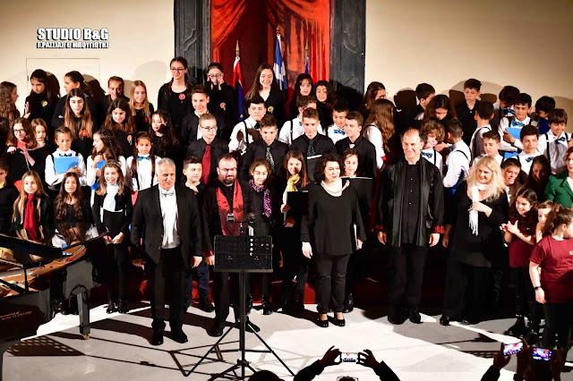 """Με μεγάλη επιτυχία συνεχίστηκε και την 2η ημέρα το """"Ναύπλιο - Artiva 5o Youth Music Festival"""" (βίντεο)"""