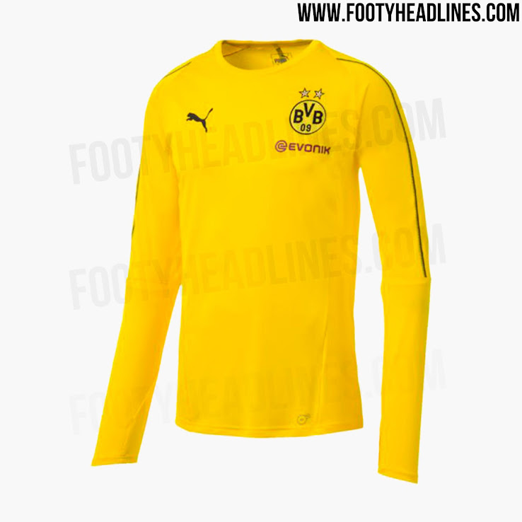 The new Dortmund 2018-2019 training jerseys and full collection will hit  stores in June   July 2018. 2fcfbfbca
