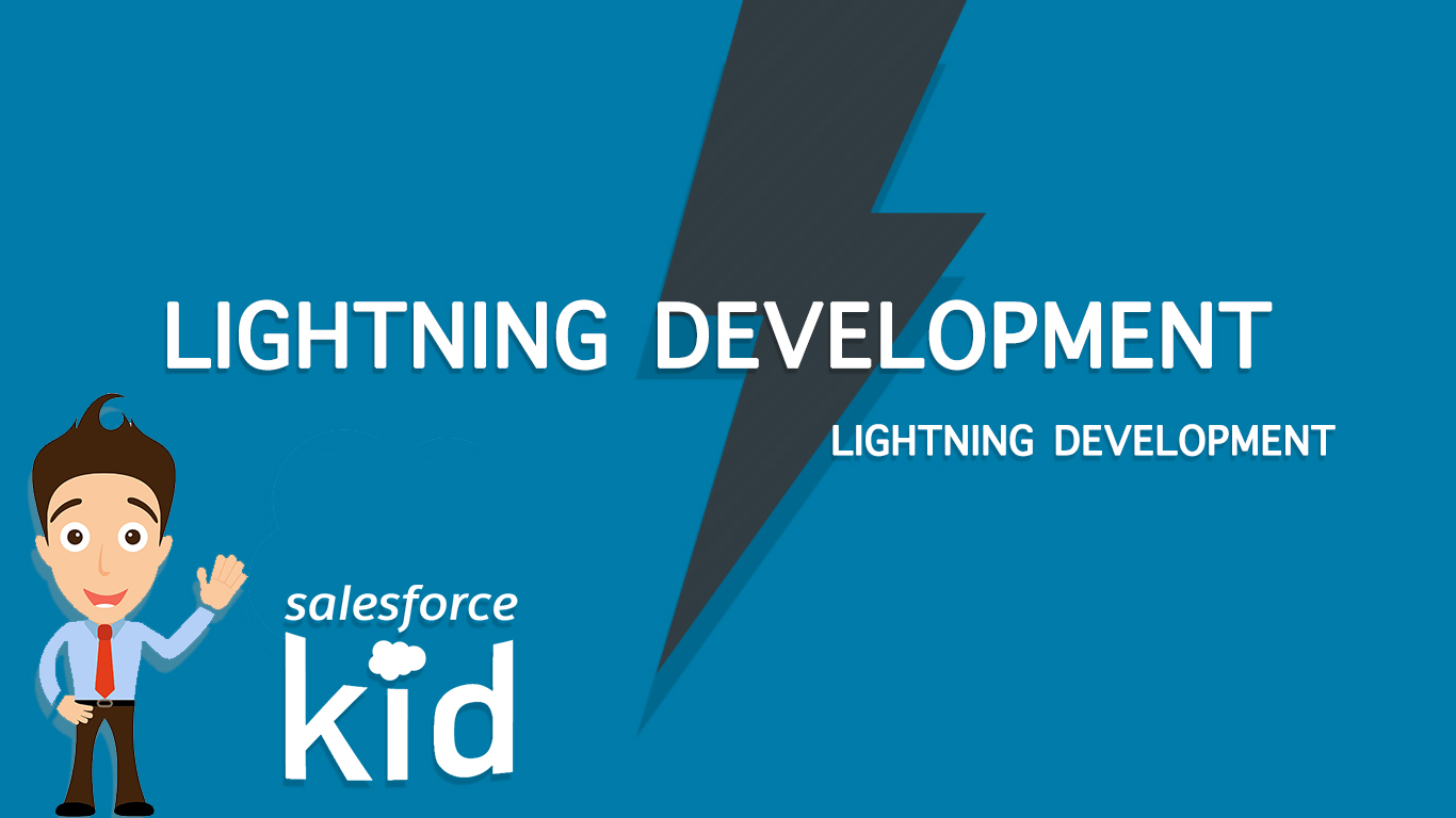 salesforce lightning development tutorial
