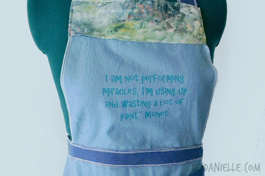 A DIY Painting Apron