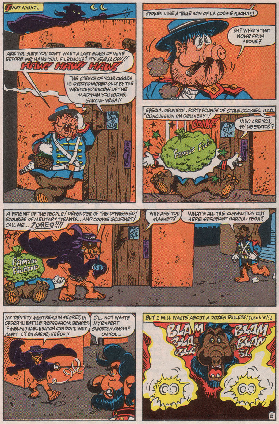 Read online ALF comic -  Issue #40 - 24