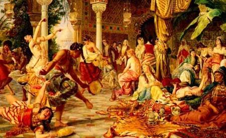ظاهرة الغلمان و اللواط في قصور الدول الإسلامية عبر التاريخ