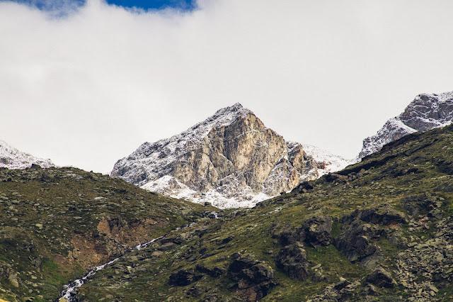 Plattenspitze – Punta delle Laste 3.422m  Bergtour-Martelltal  Wanderung-Martell  Wandern-Südtirol 07