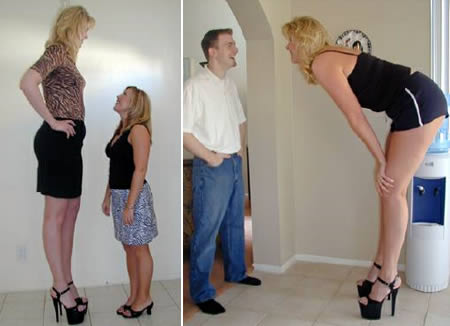 Meet The 12 Tallest Women Ever Live
