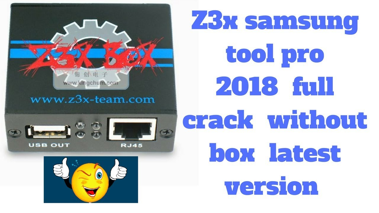 z3x samsung tool 14.3