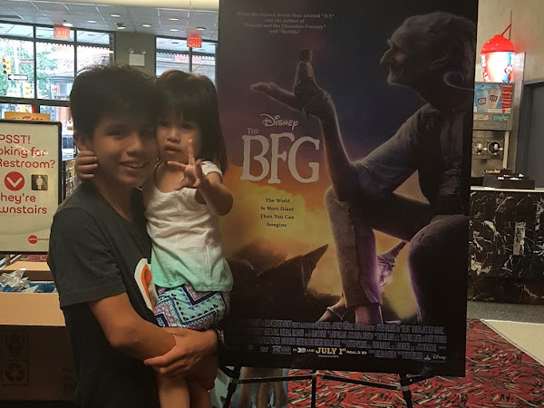 Disney The BFG Movie Review