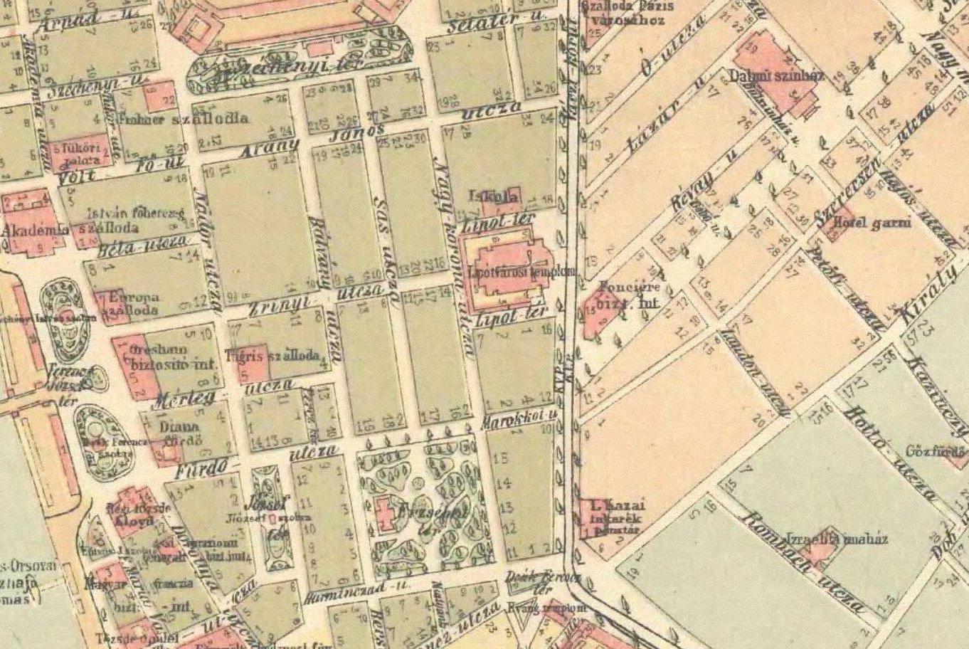 tárnok térkép Városi metamorfózisok: Utcanevek nyomában tárnok térkép
