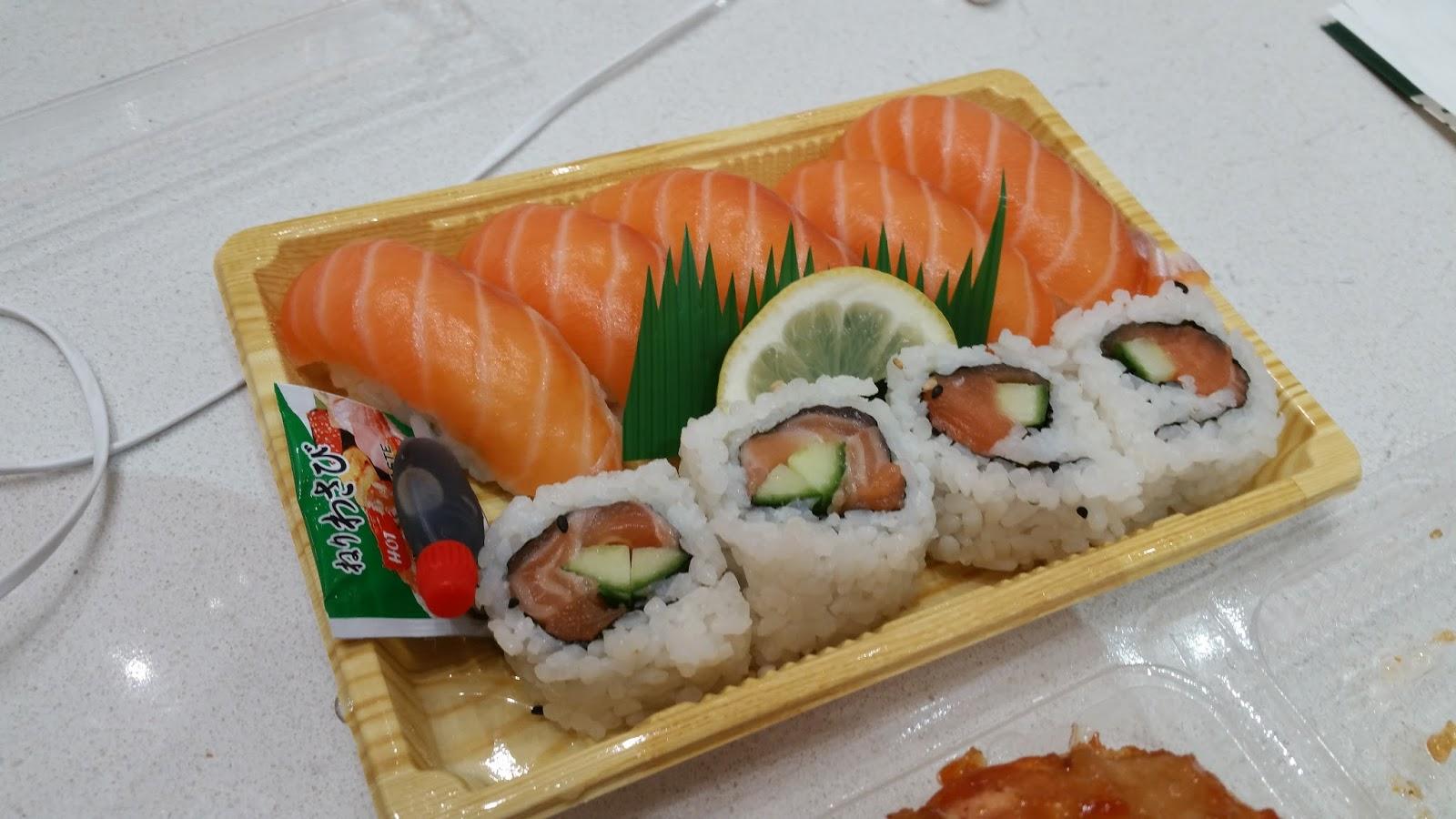 I Ate Room Temperature Sushi