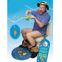 Un jeu de pêche pour toilettes
