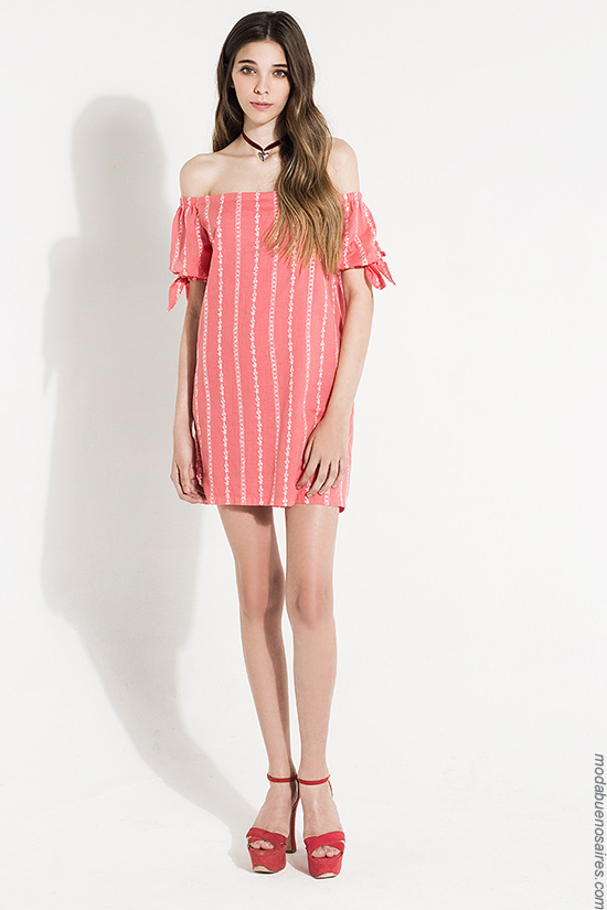 Moda mujer 2017 ropa de moda verano 2017.