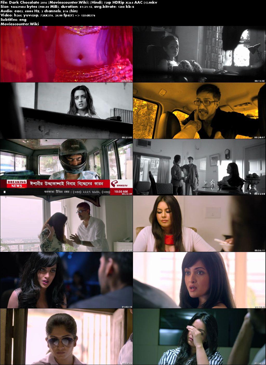 Screen Shots Dark Chocolate 2016 Hindi HD 720p
