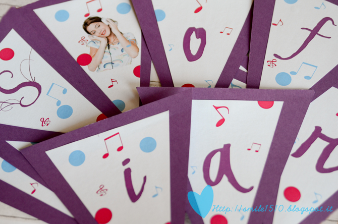 Violetta Happy Birthday Banner