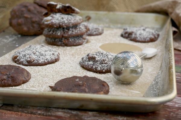 Triple-Chocolate Brownie Cookies with Zucchini #OXOGoodCookies