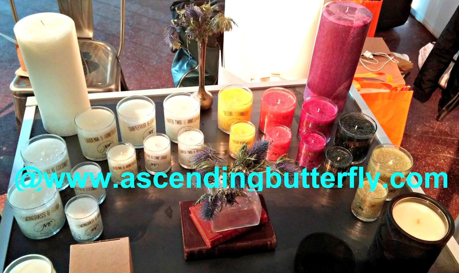 Joya Studio Candles at Elements New York Showcase February 2014