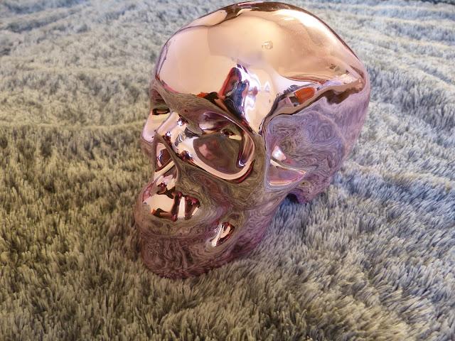 tirelire crâne halloween claire's