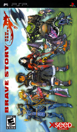 Brave Story - New Traveler - PSP - ISO Download