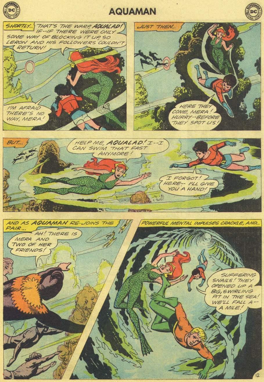 Read online Aquaman (1962) comic -  Issue #11 - 17