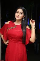 Poorna in Maroon Dress at Rakshasi movie Press meet Cute Pics ~  Exclusive 10.JPG