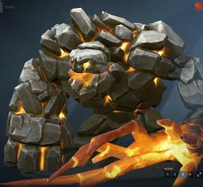Tiny The Igneous Stone Dota 2 Mods