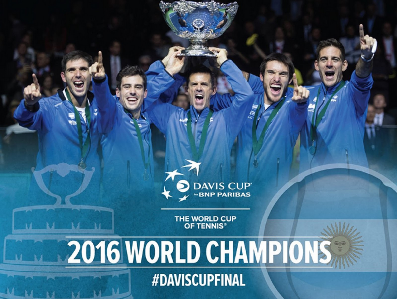 ARGENTINA DAVIS CUP CHAMPIONS