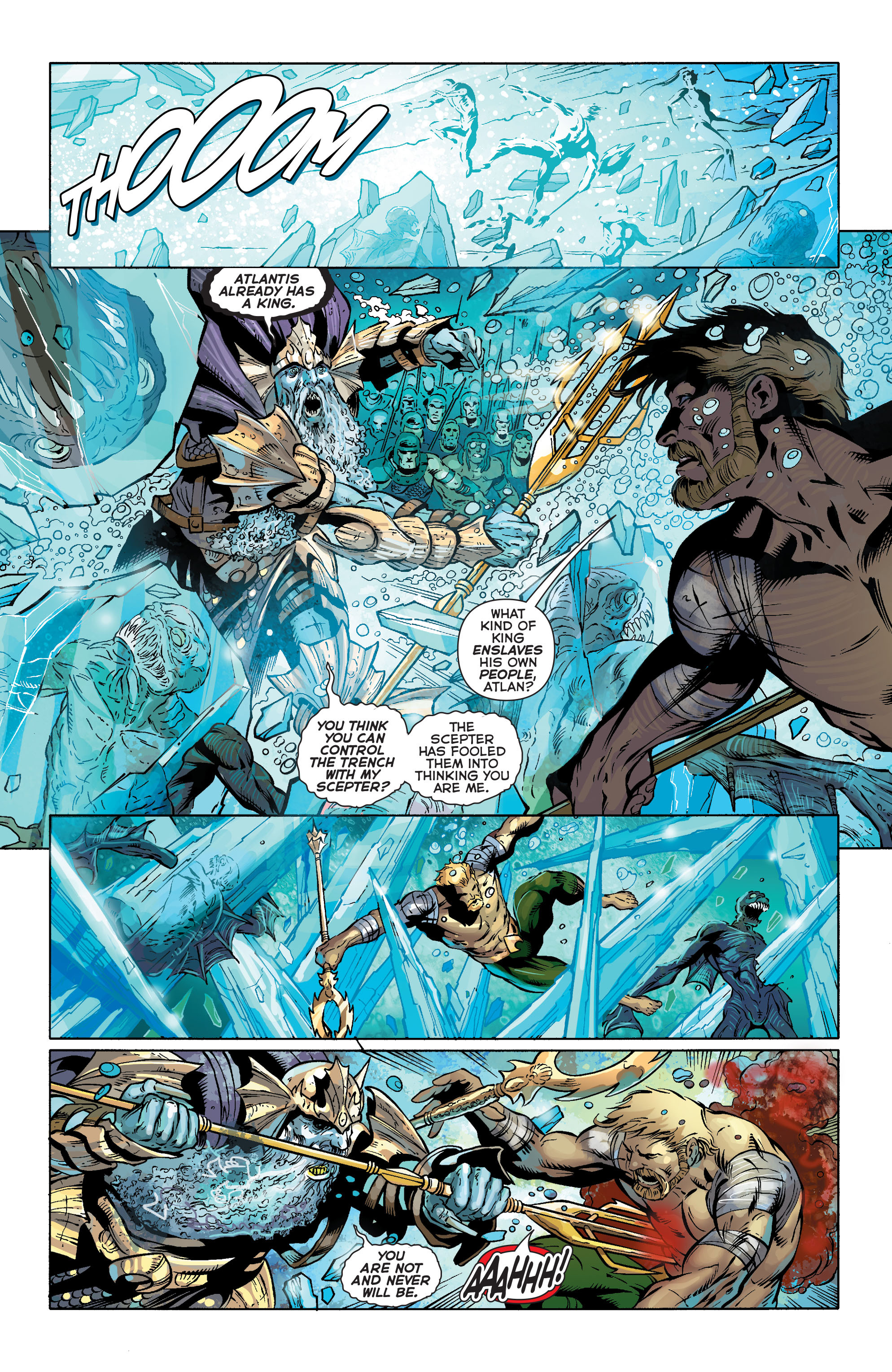 Read online Aquaman (2011) comic -  Issue #25 - 12