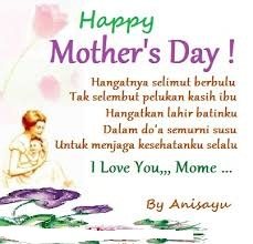Puisi Buat Hari Ibu