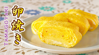 Tamagoyaki (Sweet / Savory Japanese Rolled Omelette)
