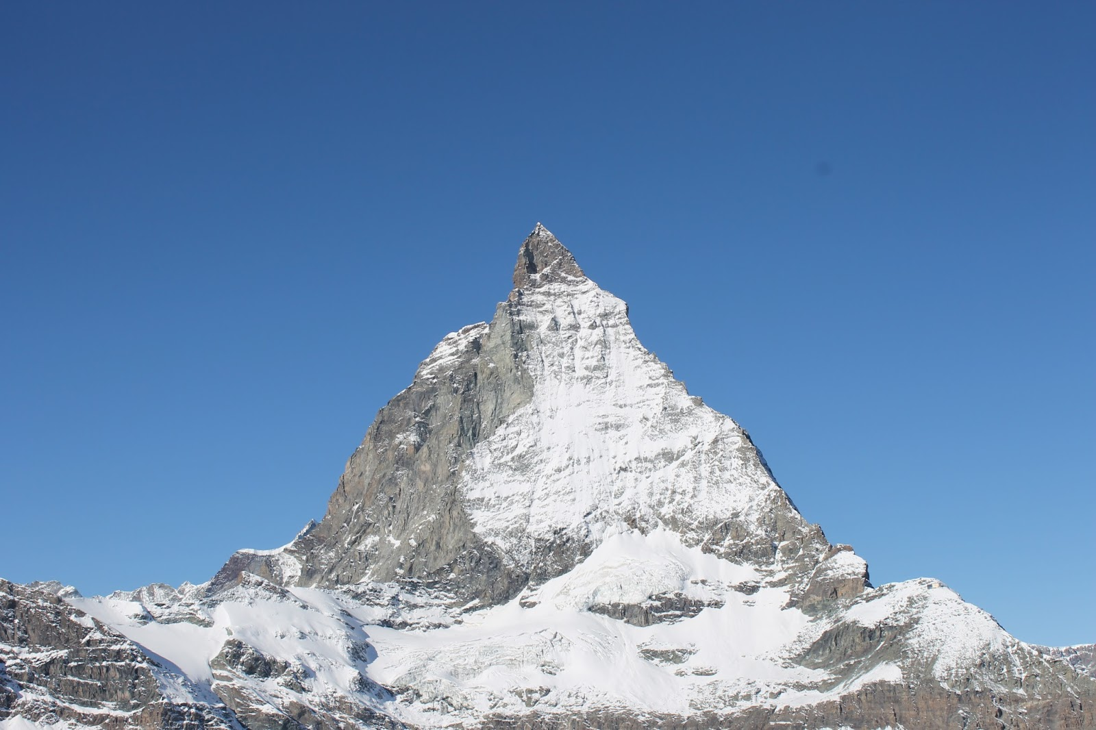 Vista Matterhorn do Glacier Paradise - Zermatt