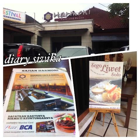 Harmoni Resto dan Cafe, Malang