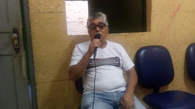 Agrônomo José Wilson fala da realização de curso de manejo em sistema de irrigação em Elesbão Veloso.