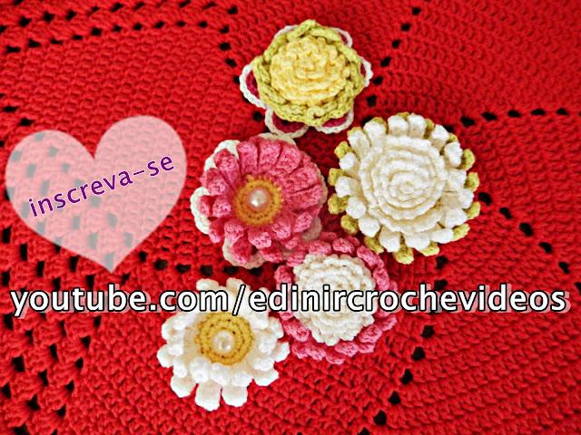 aprender croche curso de croche edinir-croche tapete de crochê vermelho natal sala casa decoração